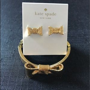 Kate Spade Earrings & Bracelet
